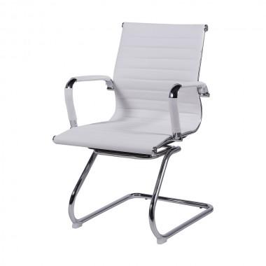 Cadeira De Escritório Esteirinha 3301 Fixa Branca