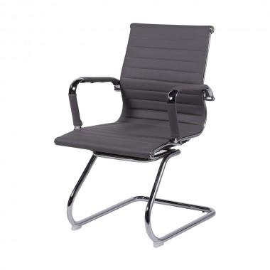 Cadeira De Escritório Esteirinha 3301 Fixa Cinza