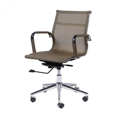 Cadeira De Escritório Esteirinha Tela 3303 Baixa Cobre