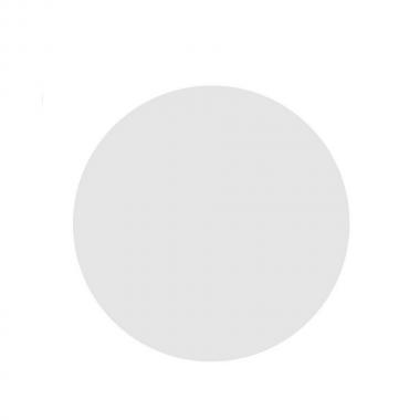 Tampo de Mesa Redondo Branco Chanfrado 60cm