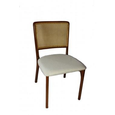 Cadeira Mz4 II de Madeira Palha Natural