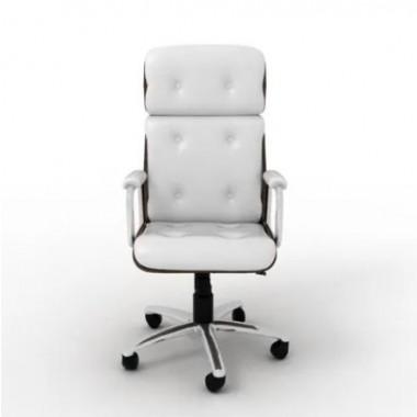 Cadeira Escritório Andisia Alta Branca