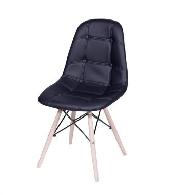 Cadeira Eames Eiffel Botonê Preta