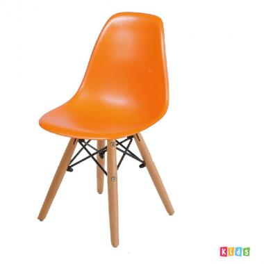 Cadeira Eiffel Polipropileno Laranja Infantil