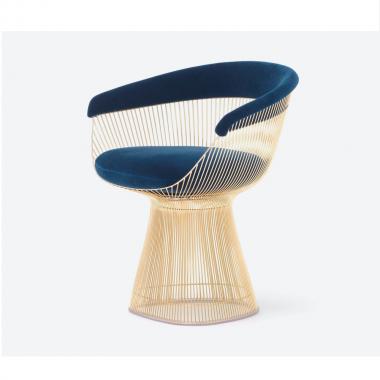 Cadeira Platner Dourada
