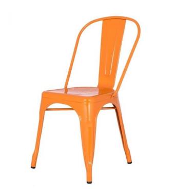 Cadeira Tolix Laranja